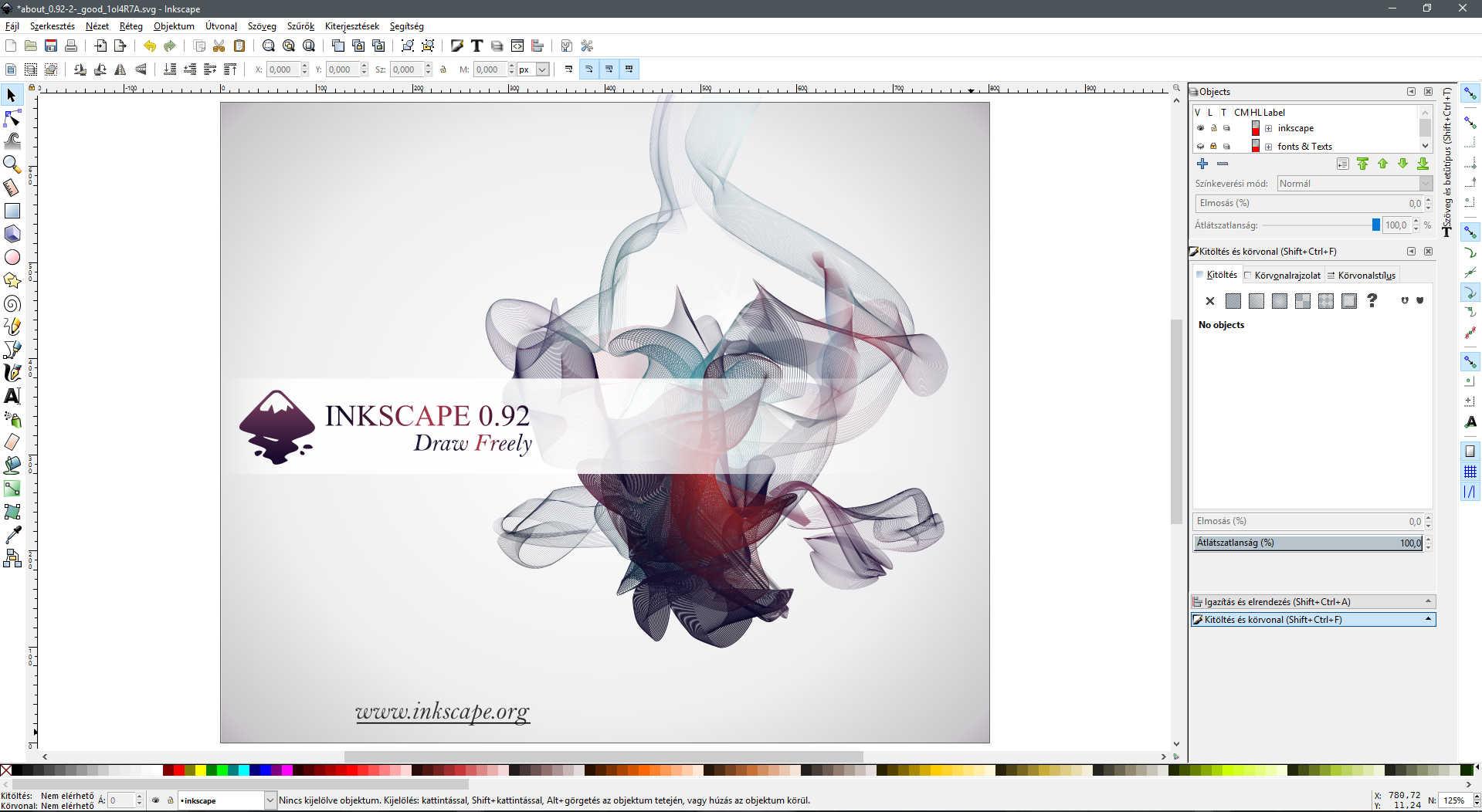 Inkscape használata